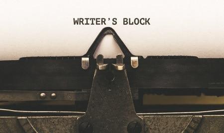 Banjaxed by writer's block?