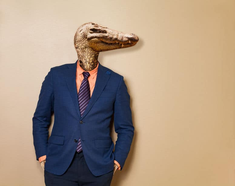 Terrified of public speaking? That's your inner lizard - and you can beat it...