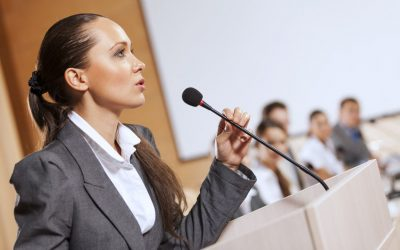 Confident public speaking – our five top tips